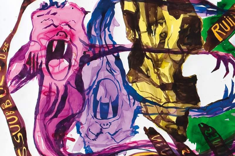 Konstverk av Adam Saks ska visas här