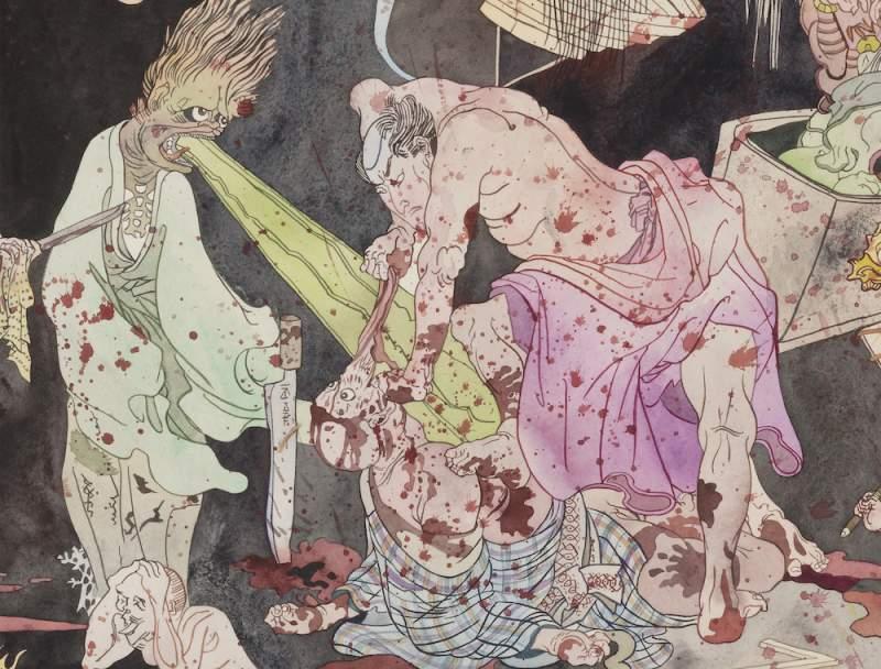 Konstverk av Fredrik  Söderberg  ska visas här