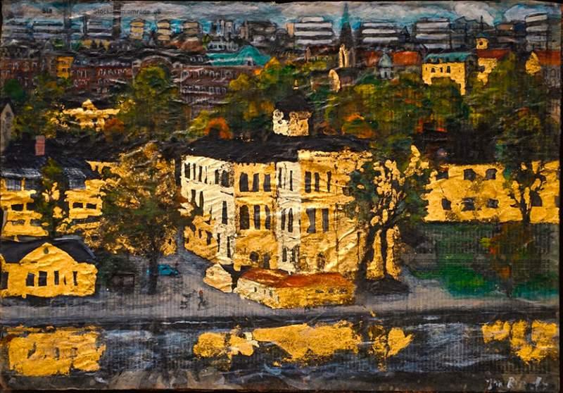 Konstverk av Jan Runefelt ska visas här