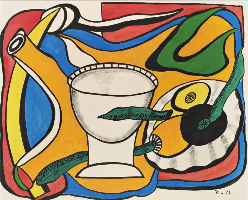 Konstverk av Fernand Legér ska visas här
