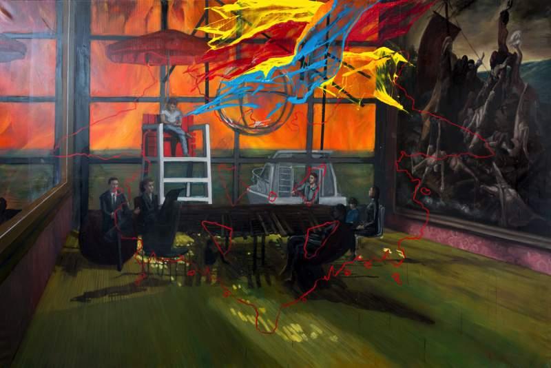 Konstverk av Erik Sigerud ska visas här